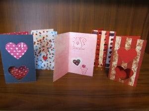 Amber's Handmade Valentines