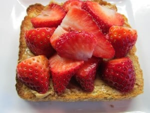 Strawberries and Peanut Butter