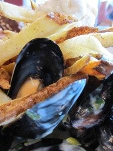 Brava Bistro Mussels