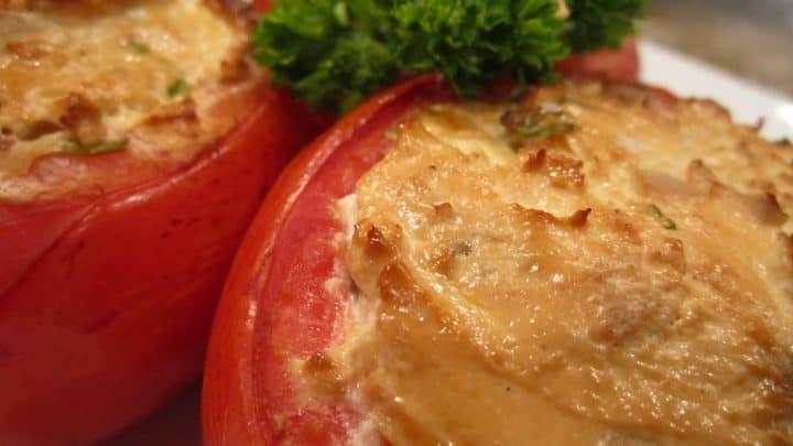 Smoked Stuffed Tomatoes