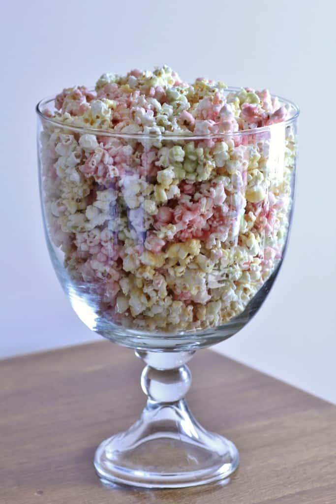 Tri-colored popcorn
