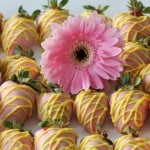 Candy coated strawberries!!