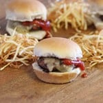 Sliders and Shoestring Fries
