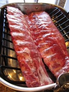 Beautiful back ribs