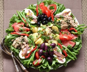 Salade Nicoise for JC100