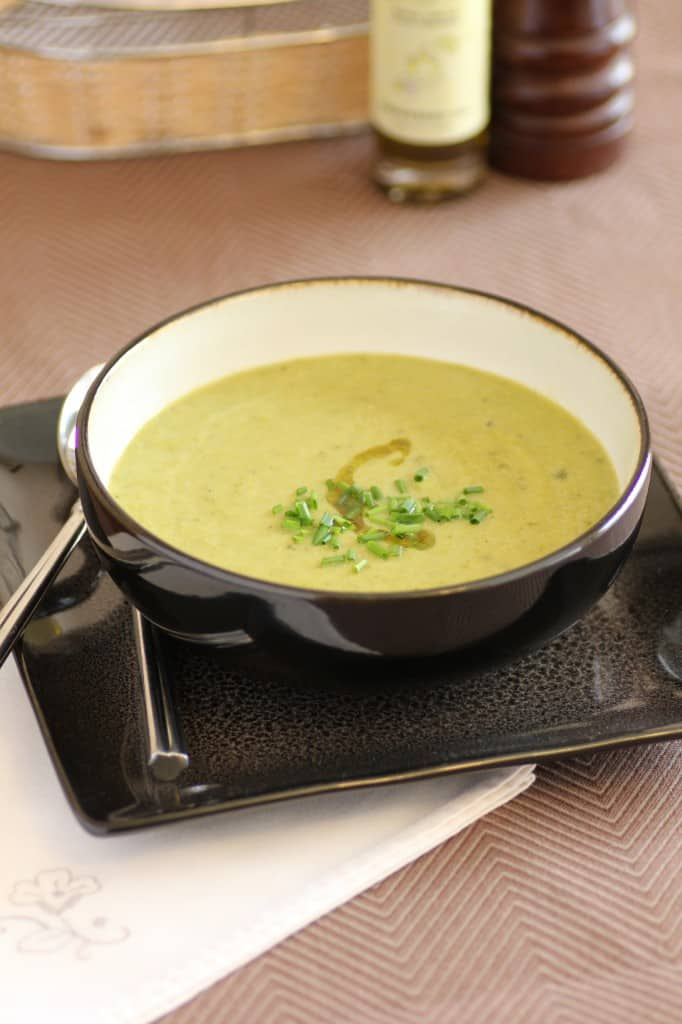 No Cream of Asparagus Soup by Noshing With The Nolands