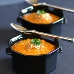 Roasted Sweet Potato and Quinoa Soup