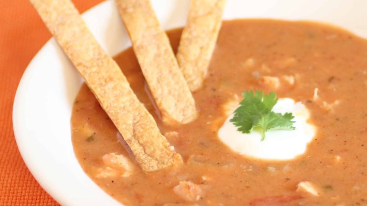 Spicy HeartyTortilla Soup