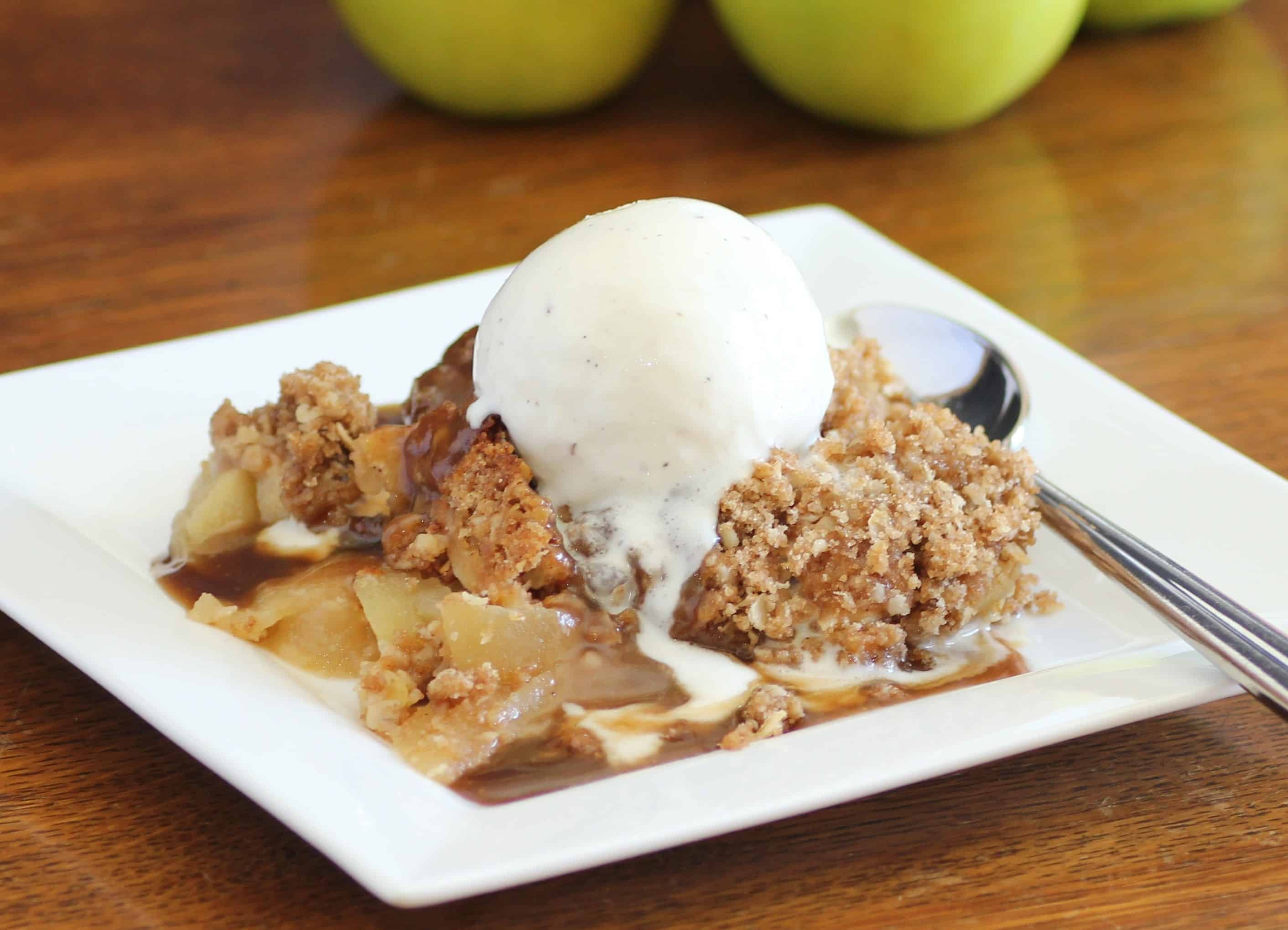 Apple Crisp with Oat Topping Recipe - m 15