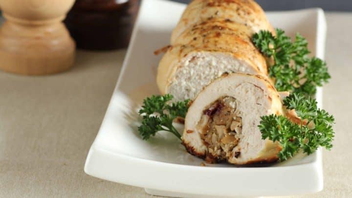 Rolled Stuffed Turkey Breast