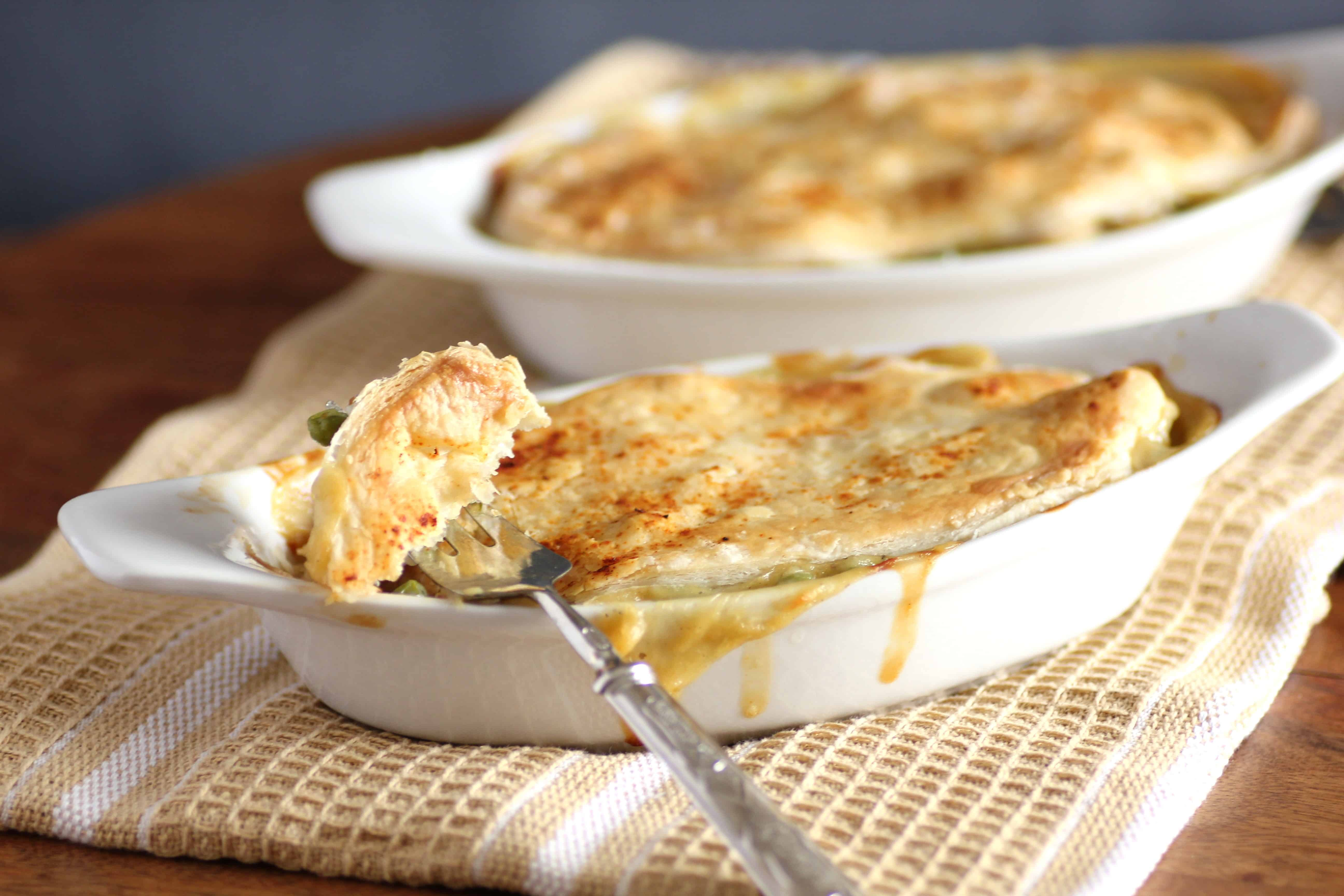 Individual Chicken Pot Pies For Comfort Foods At Sundaysupper