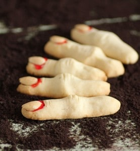 Witch's Fingers for Trick-Or-Treat Halloween Party at #SundaySupper