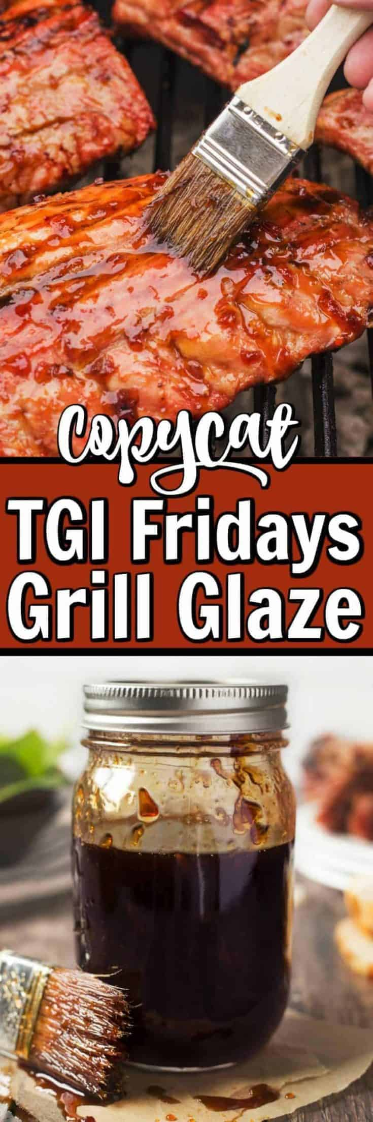 This Jack Daniels Grill Glaze is made famous from TGI Fridays restaurants and our copycat version can now be easily made at home!! #TGIFridays #grillglaze #BBQ
