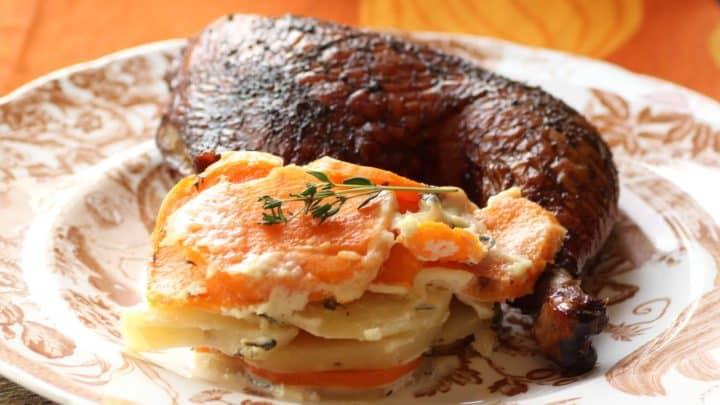 Scalloped Sweet Potato/Potatoes