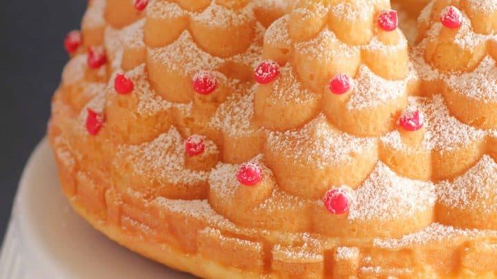 Holiday Tree Cake