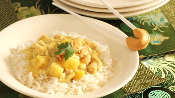 Thai Crockpot Chicken