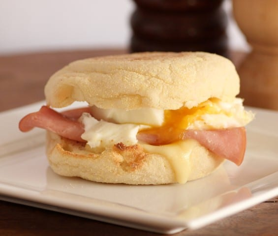 Ham, Cheese and The Perfect Poached Egg Sandwich by Noshing With the Nolands