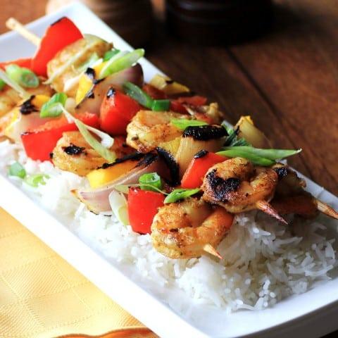 Cury Shrimp Kabobs 2