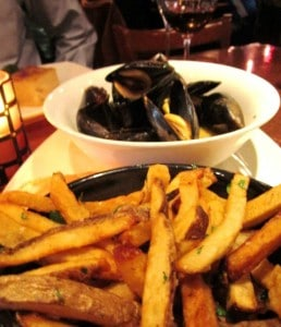 Saltspring Mussels and Fries