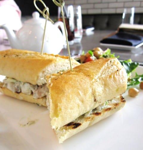 Shrimp Salad Sanwich