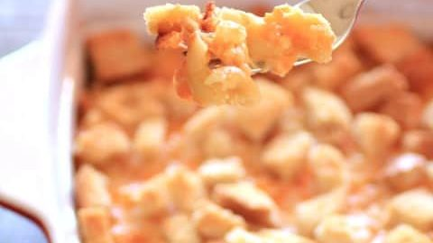 Cheddar and Asiago Mac and Cheese