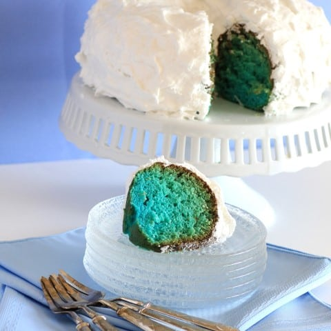 Blue Hawaiian Bundt Cake 3