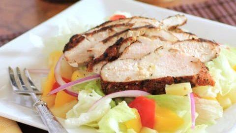 Jerk Chicken Salad 2