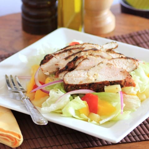 Jerk Chicken Salad 2