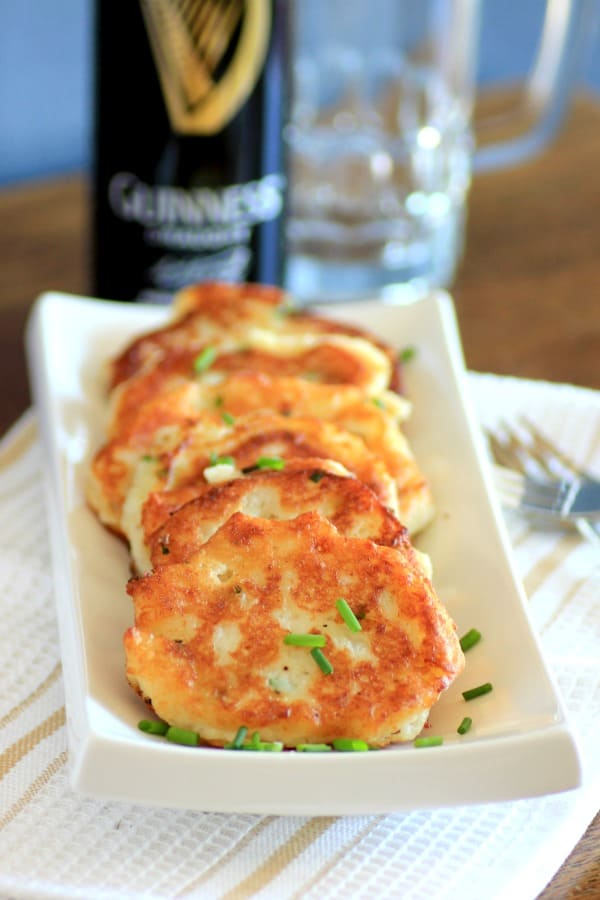 Potato Pancakes for St. Patrick's Day