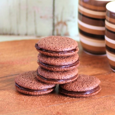 Easy Chocolate Macaroons6