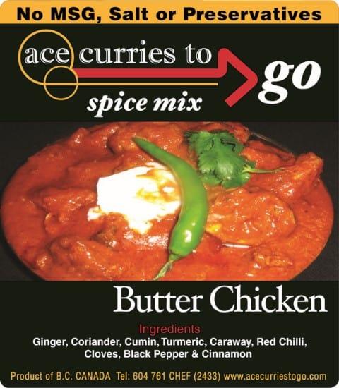 Ace Curries BUTTERCHICKEN