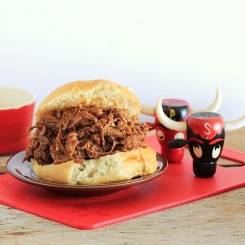 Bourbon BBQ Beef Sandwich (4)