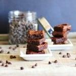 Fudgy Carob Brownies
