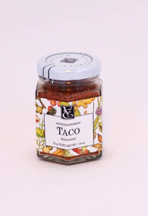Epicure Taco Seasoning Jar