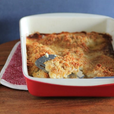 Baked Lemon Sole with Parmesan Crust (2)