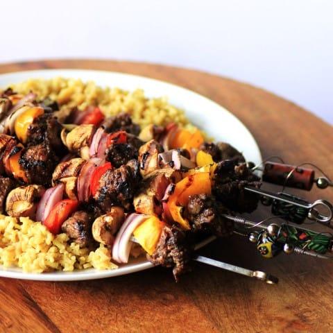 Bison Kebabs (3)