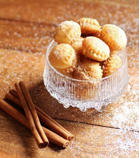 Cinnamon Puff Pastry Bites