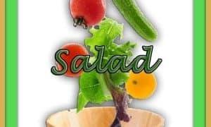 Raspberry, Chicken, Feta and Hemp Salad for #SaladBar