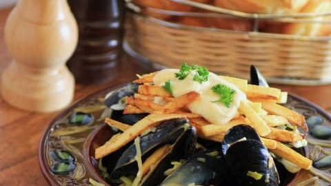 Mussels and Pomme Frites