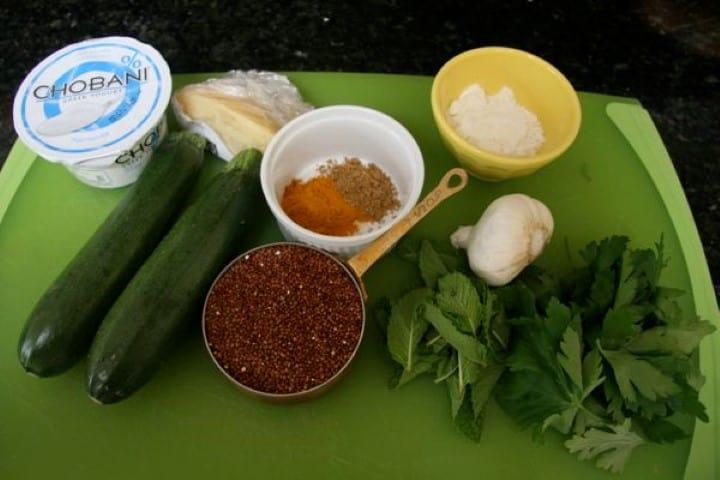 Red Quinoa Zucchini Patti (Small)