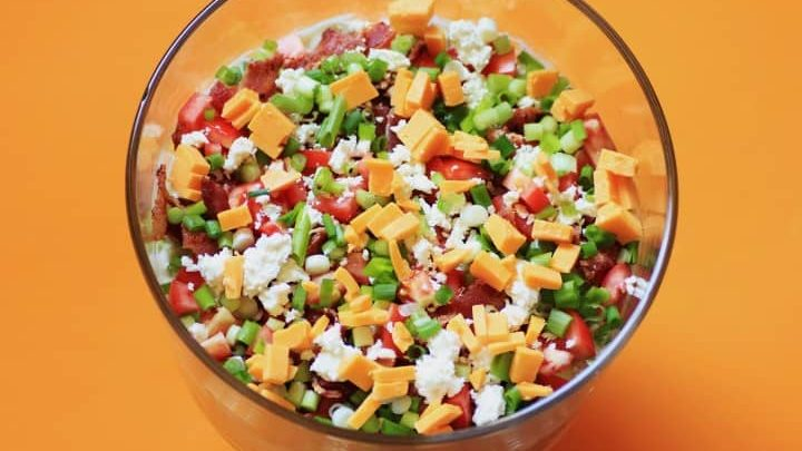 California Layered Salad by The Weekend Gourmet