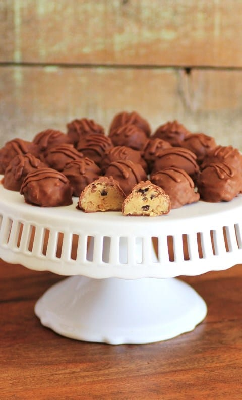 Chocolate Chip Cookie Dough Truffles (Small) (2)