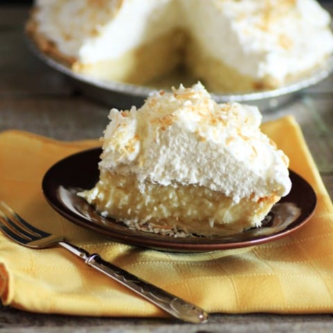 Coconut Cream Pie by Noshing With The Nolands
