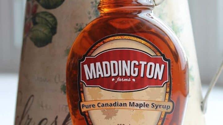 Maple Syrup Pecan Coffeecake