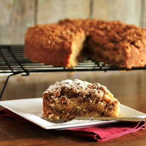 Maple Syrup Pecan Coffeecake (2) (Small)