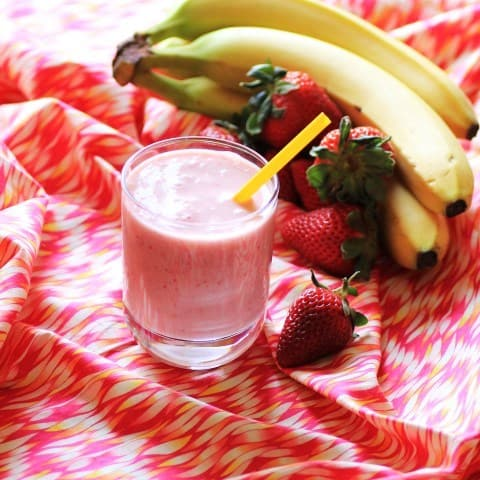 Strawberry Banana Smoothie2