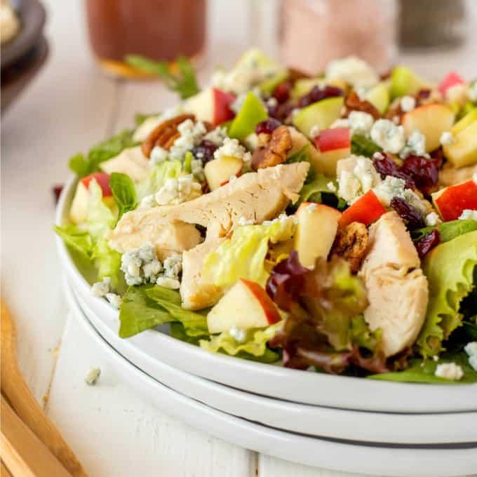 Copycat Wendy's Apple Pecan Chicken Salad