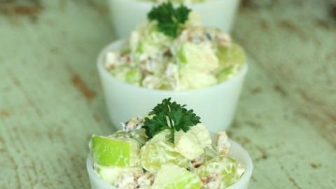 Waldorf Salad for Crunchy Goodness #SundaySupper