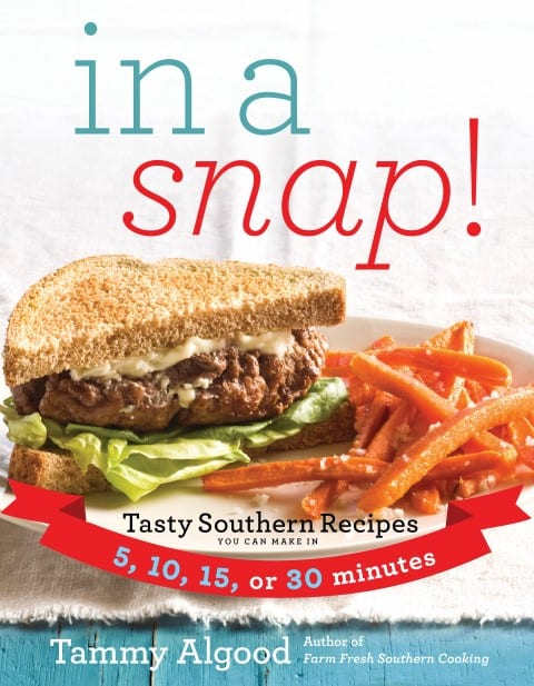 In A Snap! cookbook cover
