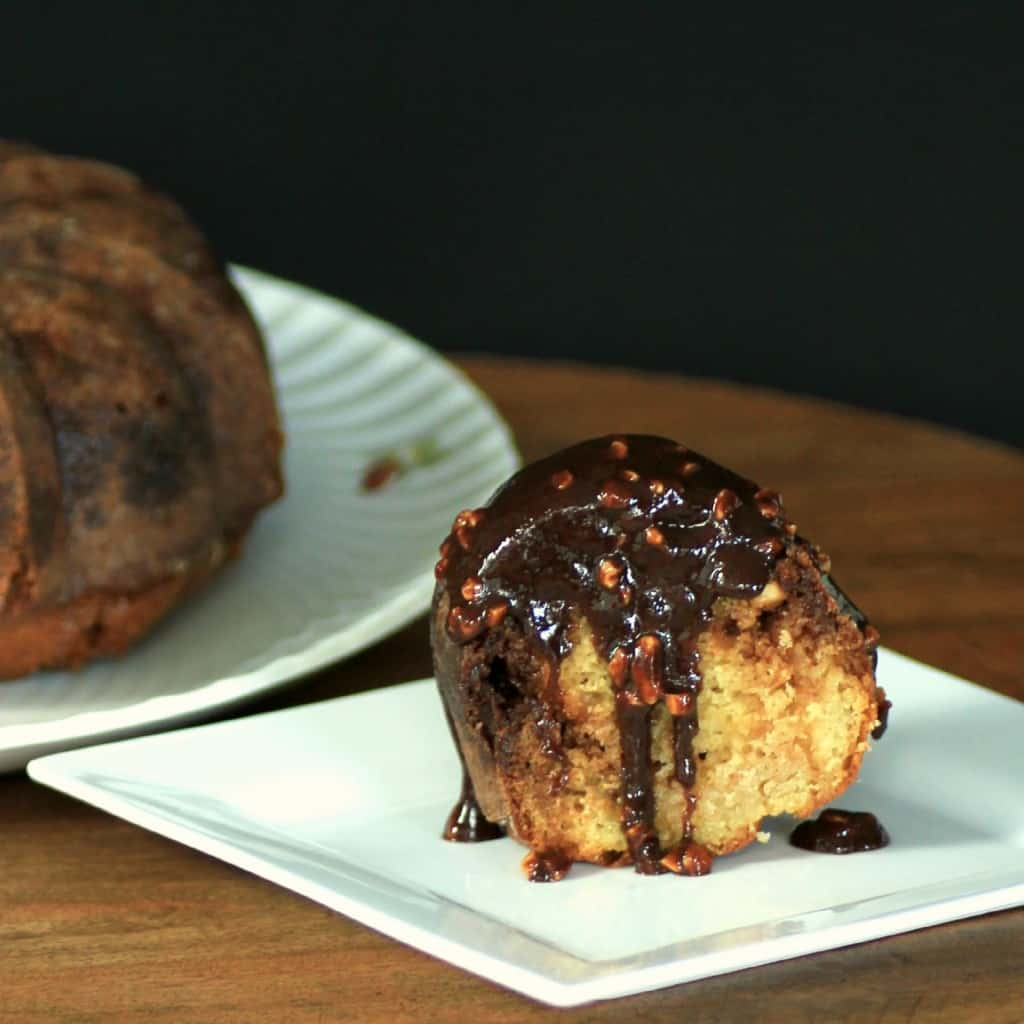 Snickers Bundt by Noshing With The Nolands